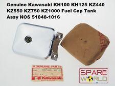 Kawasaki KH100 KH125 KZ440 KZ550 KZ750 KZ1000 Fuel Cap Tank Assy 51048-1016 NOS
