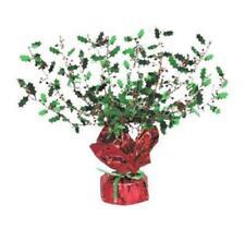 Christmas Holly & Berry Gleam & Burst Centerpiece