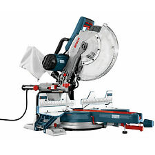 """12"""" Dual Bevel Compound Miter Saw Bosch Tools Cm12Sd New"""