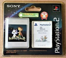 PS2 Doko Demo Issyo: toro y la estrella fugaz, tarjeta de memoria de 8 MB, Sellado De Fábrica
