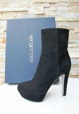 Sergio Rossi 41 Platform Ankle Boots Boots Boots Shoes NEW