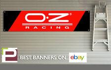OZ Racing Alloy Wheels Banner for Workshop, Garage, Office Pit Lane,