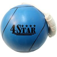 OFFICIAL TETHER BALL BLUE w/ ROPE INCLUDED Outdoor Sports Playground Tetherball