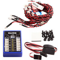 RC Vehicle 12 LED Flashing Colorful Lights System Kit For RC 1:10 Car Truck New