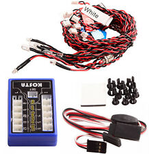 On Road Drift Car 12 LED Flashing Colorful Lights System For RC 1:10 Car Truck