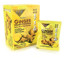 New listing Best Ginger Tea with Honey Crystals 30 bags