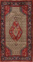 Tribal Geometric Sarab Oriental Area Rug Wool Hand-Knotted Nomad Carpet 5'x9'