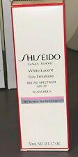 Shiseido White Lucent Day Emulsion SPF 23  Sunscreen 1.7 oz/50 mL New
