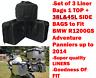 Gepäckkoffer Innentasche Seite &top Taschen für BMW R1200GSA &f800gsa Adventure