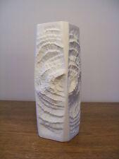 Vintage AK Kaiser Vase Fossil Bisque Porcelain M. Frey Modern Design 70s 70er