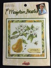 Lanarte Marjolein Bastin Pear Blossoms Counted Cross Stitch Kit Sealed