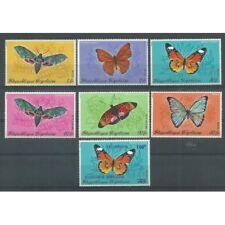 1970 TOGO FARFALLE BUTTERFLIES 7 V.  MNH YV. 683/86 + A139/40 MF27291