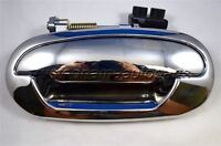 for Ford Pickup Outside Outer Exterior Door Handle Driver Side Rear Left Chrome
