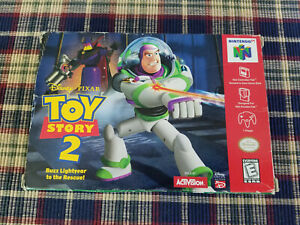 Toy Story 2 Buzz Lightyear to the Rescue - Nintendo 64 - Authentic - Box Only!