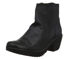 FLY London Wega Janeda Black Ladies Ankle Boot Size US 6.5-7 EU 37