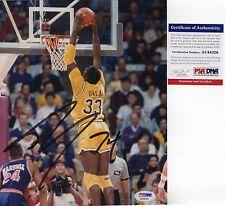 SHAQUILLE O'NEAL SHAQ NBA SIGNED AUTOGRAPH LSU TIGERS BASKETBALL PSA DNA COA