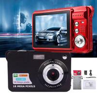 "TFT LCD 2.7"" HD 720P Digital Camera 18MP 8x Zoom Video Camcorder DV Anti-Shake"
