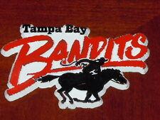 TAMPA BAY BANDITS Vintage Old USFL RUBBER Football FRIDGE MAGNET Standings Board
