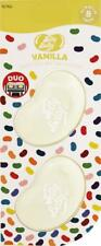 1 x Twin Pack 3D JELLY BELLY Clip Vent DUO Bean Gel VANILLA Air Freshener
