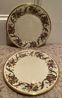 "Lenox HOLIDAY TARTAN 10 3/4"" Dinner Plates Set(s) of 2"