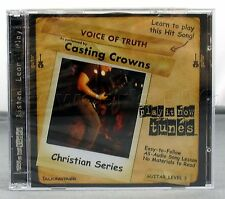 Talking Tabs Play It Now Voice of Truth by Casting Crowns Guitar Audio CD - NEW