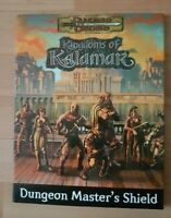 Dungeon Master's Shield D&D 3 E 3.5 3rd SCREEN RPG WTC Kingdoms of Kalamar KOK