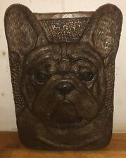 Latex Mould for making stunning French Bulldog Plaque