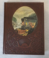 "Time Life Old West Book 1974 "" The Railroaders "" Train History Railroad Out West"