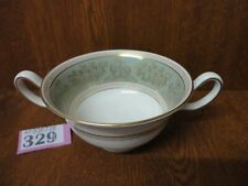 Wedgwood Gold Columbia SAGE GREEN - 1 x Soup Coupe / Bowl