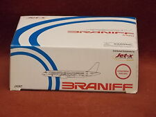 Dragon Jet-X JX067 Braniff International A320 diecast model 1:400 Scale Red/Blue