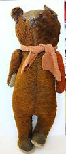 "Antique Electric eye Mohair Teddy bear 22"" Rare"