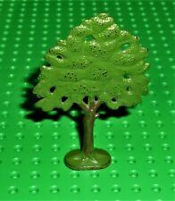 Lego-planta, árbol de roble Plana Vintage pintado con base sólida. 58-62 (ftoakh) PT13