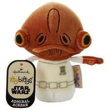 Hallmark Itty Bittys Admiral Ackbar Star Wars Plush Soft Toy 25476591