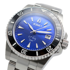 Aquacy 1769 Hei Matau Men's Automatic 300M Blue Mother Pearl Diver Watch  Miyota