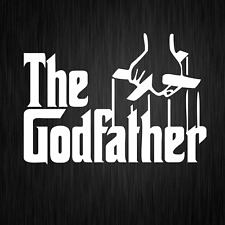 The Godfather Der Pate Mafia Italia Weiß Auto Vinyl Decal Sticker Aufkleber