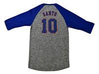 Majestic Mens MLB Chicago Cubs Ron Santo Baseball Shirt New S, M, L, XL, 2XL