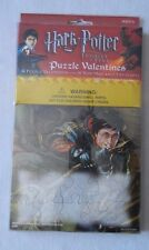 Harry Potter and The Goblet of Fire Puzzle Valentines-16 Puzzle Valentines-New!
