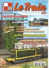 LE TRAIN N°328 X 2200 DE BORDEAUX / DIESEL SNCF ANNEE 80 / A1A A1A 6200 EN HO