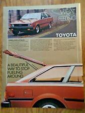 1980 Toyota Corolla SR-5 Liftback Ad