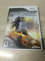 Transformers Dark Of The Moon Stealth Force Edition Nintendo Wii Activision