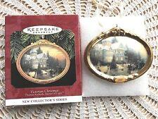 Hallmark Keepsake Thomas Kinkade Victorian Christmas Ornament 1st In Series New