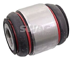 SWAG Rear Axle Wheel Bearing Housing X2 pcs Fits MERCEDES C-Klasse 2013520027