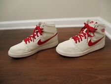 Used Worn Size 11.5 Nike Air Jordan 1 KO High OG AJKO Shoes Sail & Varsity Red