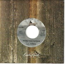 L.A. EXPRESS  funk inst. 45  Double Your Pleasure / Dance The Night Away - NM