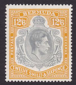 Bermuda. SG 120a, 12/6 grey & brownish orange. Unmounted mint.