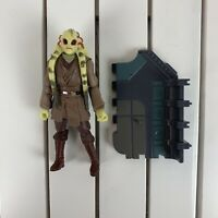 "Star Wars Kit Fisto Revenge Of The Sith ROTS Action Figure 3.75"" Hasbro"