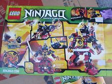 Lego 9448 Ninjago Samurai Mech  with Instructions and Box