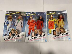 Hasbro Charlie's Angels Jill Sabrina Kelly Dolls Farrah Fawcett Jaclyn Smith