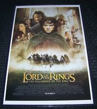 fellowship of the ring poster in home décor posters prints for