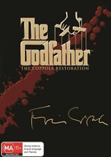 THE GODFATHER TRILOGY Coppola Restoration (DVD, 3-Disc Set) NEW